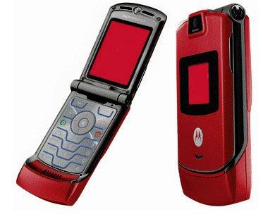 Motorola V3 Razr - Red - FREE SHIPPING!