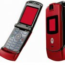 Motorola V3 Razr - Red - FREE SHIPPING!