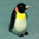 Penguin Bird Miniature Funny Animal Hand Made Painted Ceramic Statue Figure Small Craft Collectible
