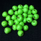 20 Apples Granny Smith Apple Fruit Fruits Green Tiny Food Clay Fimo Miniature Dollhouse Jewelry