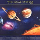 The Solar System by  Unknown 38.5x26.750 Art Print Poster 539522