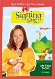 Signing Time Volume 1 My First Signs VHS