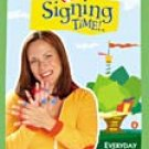 Signing Time Volume 3 Everyday Signs DVD