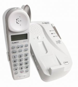Clarity Professional C4210 2.4GHz 50dB Cordless Amplified Phone w/Digital Clarity Power & Caller ID