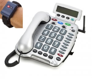 ClearSounds CL600 Emergency Connect / 50dB Amplified Telephone