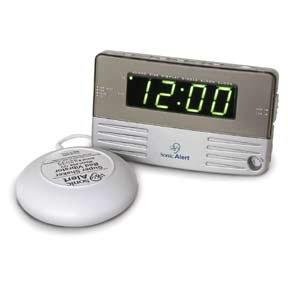 Sonic Boom Clock SB200SS w/12V Bed Shaker