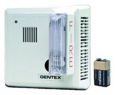 Gentex Smoke Detector w/Strobe (Hard-Wired W/Battery Backup) 7109CS