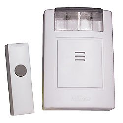 NuTone Doorbell Strobe/Chime with Button (Wireless)