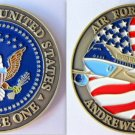 Challenge Coin President Airplane Air Force 1 Military Coin Andrews AFB