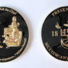 Churchill Ask the Chief US Navy challenge coin H. NANCE JR.