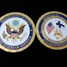 Department of State Ambassador Challenge Coin finland