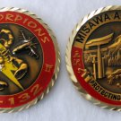 MISAWA Air Base Airplane Scorpions USAF American Challenge Coin USA Japan