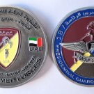 Presidential Guard Aviation Wings Airplane Challenge Coin U.A.E