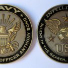 USN NAVY INTELLIGENCE WINGS EAGLE challenge coin anthony bond