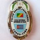 Congo Cuba Police Security Pin Badge Police Garde-frontieres