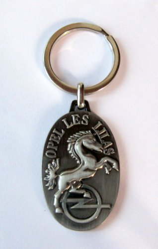 Opel Les Z Keychain Horse France Automaker Metal 2.5 Inch