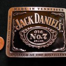 JACK DANIELS Old No. 7 BELT BUCKLE LICENSED NEW!2012