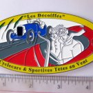 motorcylce car Emblem metal plaque sports car 5 inch long