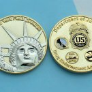 Challenge Coin DEA New York NYC Field Division Police Department of Justice DOJ