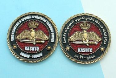 Challenge Coin Amman, Jordan King Abdullah II Special Operations Training