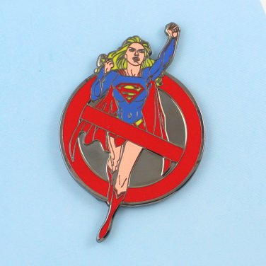 Challenge Coin New York Police NYPD Super Girl Woman Buster Xx/25 Gun Metal
