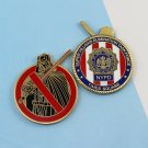 Challenge Coin New York Police NYPD darth vader