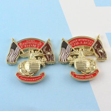 Challenge Coin Marine Corps USMC Master Sergeant MSGT