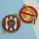 Challenge Coin New York Police NYPD super jessica rabbit times square topless
