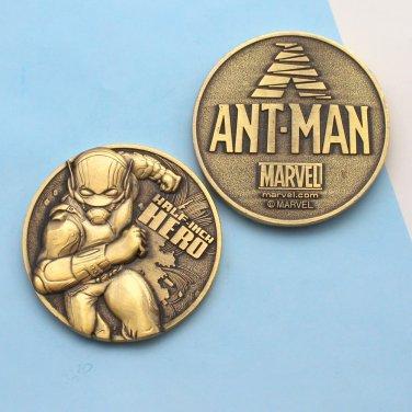 Challenge Coin Ant-Man Super Hero 1 3/4 Inch