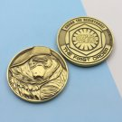 Challenge Coin Star Wars Villian 1 3/4 Inch
