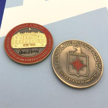 CIA Challenge Coin 45th President Of USA Donald Trump