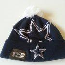 BNWT Dallas Cowboys Pom Pom Beanie