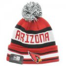 BNWT Arizona Cardinals Pom Pom Beanie
