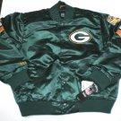 BNWT Boys Green Packers Satin Jacket Sz. 2x