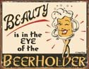 Beer Holder Tin Sign #1297