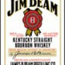 Jim Beam Ice Box Magnet #M1061