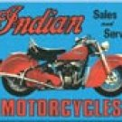 Indian Motorcycle Ice Box Magnet #M127