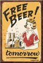 Free Beer Ice Box Magnet #M1290