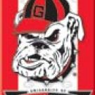 Georgia Bulldogs Ice Box Magnet #M1361