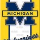 Michigan Ice Box Magnet #M1363