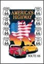 Route 66 Ice Box Magnet #M605