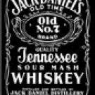 Jack Daniels Ice Box Magnet #M780