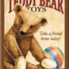 Teddy Bear Ice Box Magnet #M818
