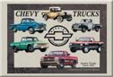 Chevrolet Truck Ice Box Magnet #M841
