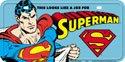 Superman License Plate # 31335