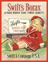 Borax Soap Tin Sign #115