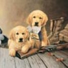 Lab Puppy Duck Hunting Dogs Tin Sign #924