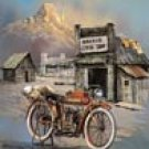Indian Motorcycle Bike Tin Sign #1030