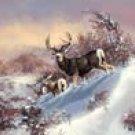 Deer Hunting Tin Sign #1034