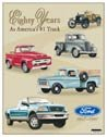 Ford Trucks Tin Sign #712
